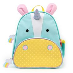 Skip Hop Zoo Pack Little Kid Unicorn Backpack. Cutest ever for a little unicorn lover.