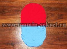как сшить двухстороннюю шапку из трикотажа