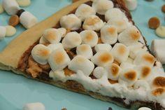 Max Brenner's Nutella/chocolate pizza recipe!