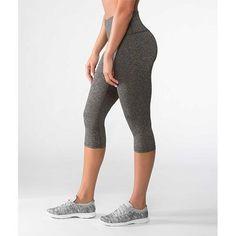 0415fa61 Women's Virus FLOW Capri Pant - Heather Charcoal Heather Black, Athletic  Wear, Rest Days