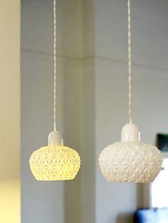 Fancy Round Pendant Light | Kathleen Hills