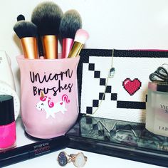 Unicorn Brush Holder / Unicorn / Makeup / Makeup Holder
