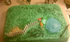 Pasture for horse cake