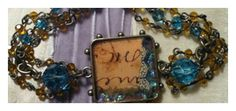 5 basic resin steps, mixed media jewelry with resin by carol la valley