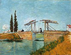 The Langlois Bridge at Arles; 1888.