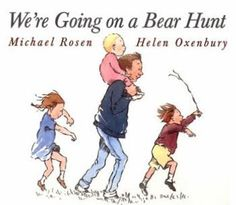 We're Going on a Bear Hunt (full of activities and a video of the author reading the book.