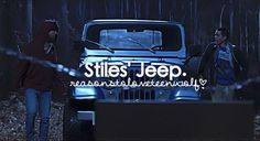 Reasons to love Teen Wolf Stiles jeep
