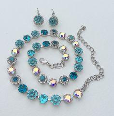 Swarovski Crystal Necklace   Special One Of by CathieNilsonDesigns, $125.00