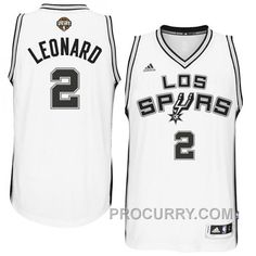 c2702d83af5e4 Kawhi Leonard San Antonio Spurs  2 2014-15 Noches Enebea Swingman Home  White Jersey