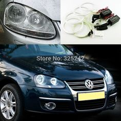 32.68$  Watch now - http://aliq9z.shopchina.info/go.php?t=32708296969 - For Volkswagen VW Sagitar 2006 2007 2008 2009 2010 Excellent angel eyes Ultra bright illumination CCFL Angel Eyes kit Halo Ring 32.68$ #SHOPPING