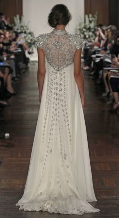 2014 Wedding Trend: 103 Fabulous Beaded Wedding Gowns | HappyWedd.com - Beautiful