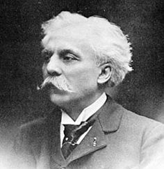 Gabriel Faure - French composer, organist, pianist and teacher. Among his teachers was Camille Saint-Saens, who was a lifelong friend.