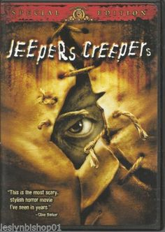 Jeepers Creepers (DVD, 2002, Lenticular) Gina Philips, Justin Long