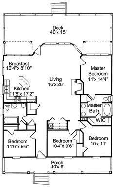collier cove beach cottage home beach house floor planscabin - Beach House Plans