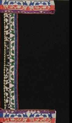 Prairie Black Wool Blanket c. 1900,