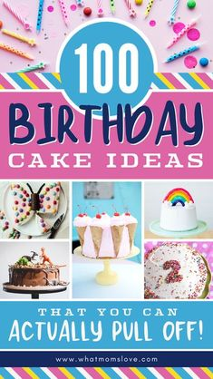 These simple cake decorating ideas are perfect for kids' birthdays & show you how easy it can be to make your own cake - even for beginners! Cake Decorating For Beginners, Easy Cake Decorating, Cake Decorating Techniques, Decorating Ideas, Diy Cake Topper, Cake Toppers, Diy Birthday Cake, Birthday Ideas, Balloon Cake