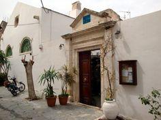 Etz Hayim Synagogue in Chania, Crete