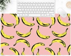 Our unique non-slip desk mats are perfect for adding a stylish accent to your office space. #mousepad #keyboardmat #deskpad #techaccessories #popart