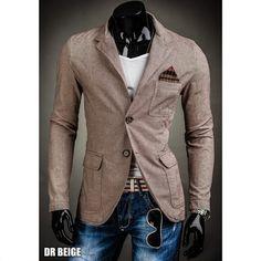 BOLF Herren Sakko Jacke Blazer Staubmantel Trenchcoat Casual Elegance Slim Fit | eBay