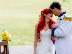 Princess bride: Over-the-top Disney wedding a viral hit