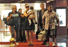Mariah Carey Photos Photos - Mariah Carey arrives at Nice Cote d'Azur airport with her twins Monroe and Moroccan (b. April 30, 2011). - Mariah Carey at the Airport