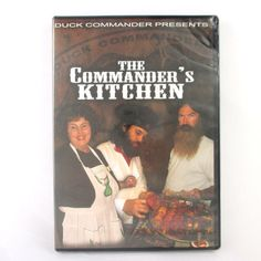 NIP Duck Commander Presents The Commander's Kitchen Cooking DVD Duck Dynasty #duck #hunting #cooking #duckdynasty