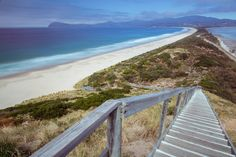The Bruny Island Isthmus - unique in Australia. How Abel Tasman, Bruny and Captain James Cook must have marvelled as they charted and sailed these waters. http://www.huonvalleyescapes.net/bruny-island.html