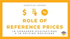 Role of Reference Prices in Pricing Decisions – Reference-based Pricing