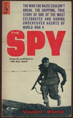 THE SPY /// Vincent Brome