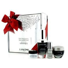 Advanced Genifique (Your Youthful Ritual) Set: Concentrate 30ml + Cream 15ml + Yeux Light-Pearl 5ml + Eye Cream 5ml - 4pcs