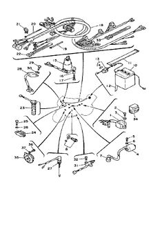 yamaha outboard remote control comp parts 703 diagram and