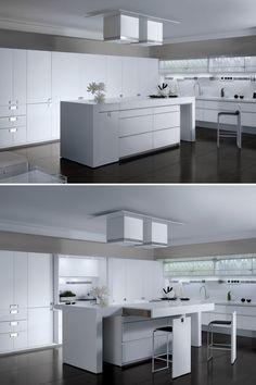 Toncelli - Con Essential Quadra domotica ad altissimi livelli #design #kitchen