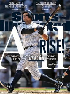 Aaron Judge New York Yankees Fanatics Authentic Autographed x All Rise Sports Illustrated Cover Photograph with Multiple Inscriptions - Limited Edition of 99 New York Yankees, My Yankees, Yankees News, Sports Magazine Covers, Covers Sports, Here Comes The Judge, Do The Hustle, Si Cover, Sports Illustrated Covers