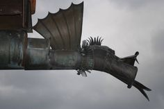 Gutter spout- modern gargoyle