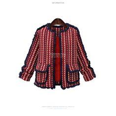 #ChanelStyle #KoreanCoat http://koreanfashion123.com/goods.php?id=296937