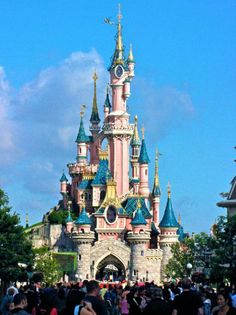 "Castle of Sleeping beauty, ""Disney"" France"