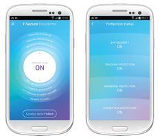 Freedome verschlüsselt auf eine Fingertipp hin den gesamten Datenverkehr und leitet ihn durch den nächst gelegenen F-Secure-eigenen VPN-Server – der F-Secure Cloud.