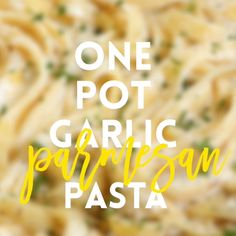 Eat Stop Eat To Loss Weight - One Pot Garlic Parmesan Pasta - In Just One Day This Simple Strategy Frees You From Complicated Diet Rules - And Eliminates Rebound Weight Gain Tasty Videos, Food Videos, Vegetarian Recipes, Cooking Recipes, Healthy Recipes, Simple Pasta Recipes, Cheesy Pasta Recipes, Spaghetti Recipes, One Pot Meals