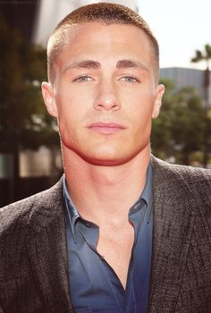 Colton Haynes perfection of a jaw line. #1 sexy aspect of a man