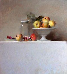 Felipe Santamans - pastel painting