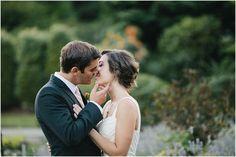 Woodinville Weddings : Kiss : Bride & Groom Portraits  Ivy & Tweed Photography