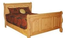 Canadian Woodcraft  - Lakeridge Deluxe Sleigh Bed, $1,395.00 (http://www.canadianwoodcraft.ca/bedroom/lakeridge-deluxe-sleigh-bed/)