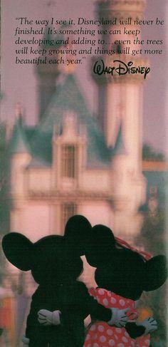 So beautiful...Walt Disney is my hero!