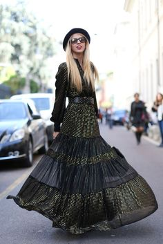 The kind of amazing maxidress that never, ever goes out of style.