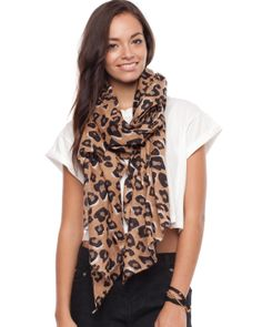 Animal Print Scarf by Atmos&Here Online | THE ICONIC | AustraliaAnimal Print Scarf by Atmos&Here Online | THE ICONIC | Australia