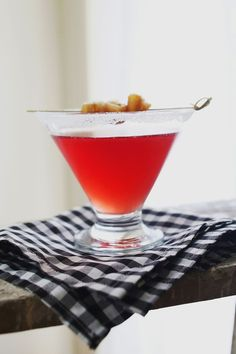 Ginger Cranberry Martini - A BEAUTIFUL MESS