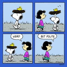 Just Snoopy being Snoopy