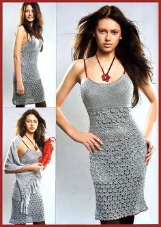 crochet beauty lace tank top dress for girl