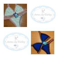 Artes da Cirley: Olá meninas  Entrando na onda dos bikinis colorido...