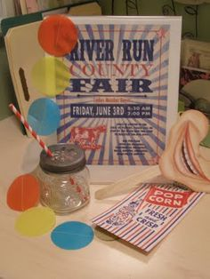 demingdesignstudio: County Fair Themed Party
